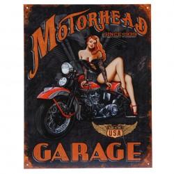 Plechová cedule MOTORHEAD GARAGE
