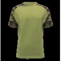 Bavlněné triko MILITARY, RAGLAN