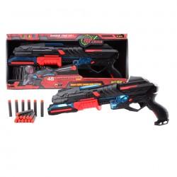 Serve & Protect Pistole, 50 cm se světlem a 10 šipkami