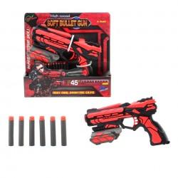 Serve & Protect Pistole, 18 cm, se 6 šipkami
