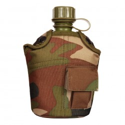 Plastová polní láhev zelená