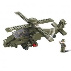 Stavebnice SLUBAN ATTACK HELICOPTER M38-B0298