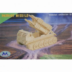 3D Puzzle Obrněný raketový vůz Patriot Missile