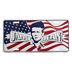 Plechová cedule s motivem James Dean