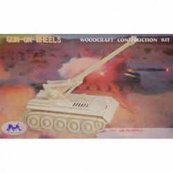 3D puzzle GUN/WHEELS