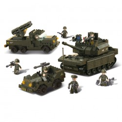 Stavebnice Sluban Army set, M38 - B6800