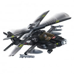 Stavebnice Sluban Helikoptéra Apache M38-B0511